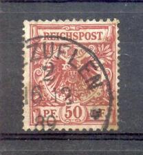 DR-Pfennigzeit 50a STEMPEL 1889 gest. BPP (A7496