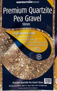 10mm Pea Gravel / Stone / Shingle 25KG (Drainage,Landscaping,Driveways)