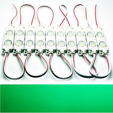 20x - grün - LED Module - DC 12V 2x 5730 SMD Werbetechnik Injektion High-Power