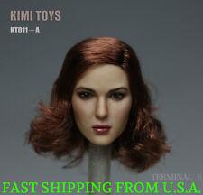KIMI KT011 A 1/6 Female Head Sculpt Short Hair For Hot Toys Phicen Figure ❶USA❶