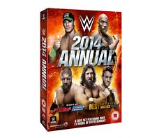 WWE Annual 2014 [6x DVD] DEUTSCH The Best of Raw, Smackdown & PPV Matches 2013