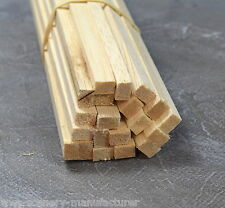 "A25 BALSA WOOD STRIP 1/4 x 3/8 - 6.5mm x 9.5mm Length 12"" Pack of 45"