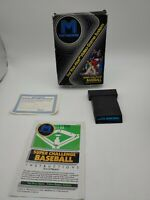 Atari 2600 Super Challenge Baseball CIB: Game, Manual, Insert. FREE SHIPPING