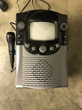 """Singing Machine CD+G Classic Karaoke Bluetooth System Built-In 5"""" Color Monitor"""