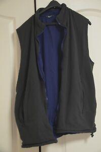 Rohan Kombi Vest, men's XL, grey/blue