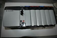 Allen Bradley Controllogix Loaded 7 Slot Rack Complete System With 1756 L71 20