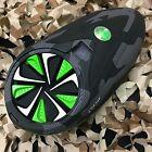 NEW Exalt Paintball Dye Rotor - Fast Feed - Speed Gate Lid - Black/Lime/White