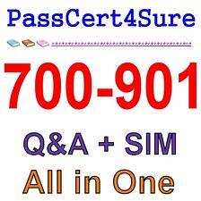 700-901 Exam QA PDF+SIM