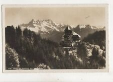 Hotel De Sonloup Sur Les Avants Switzerland 1954 RP Postcard 334b