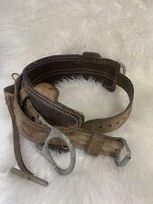 Vintage Bashlin Lineman Belt Size D 20