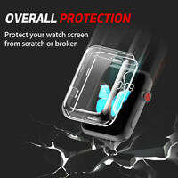 38mm 42mm IWatch Cover TPU Protective Case For Apple Watch Series 3 2 1--