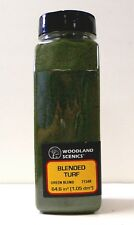 Model Railroad Trains Woodland Scenics Ground Foam Cover Turf Green Blend 1349