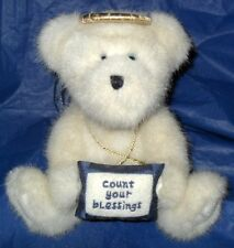 """Boyds Bear """"Angel B. Blessing ~ Count Your Blessings"""" *Excellent Condition*"""