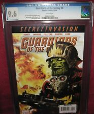 GUARDIANS OF THE GALAXY #4 MARVEL COMICS 2008 2nd series - CGC 9.6