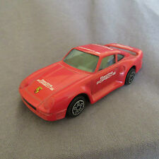 15E Burago 4161 Porsche 959 Racing Rouge 1:43