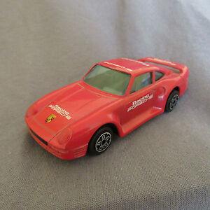 15E Burago No 4161 Italy Porsche 959 Racing Red 1:43