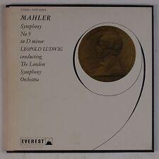 MAHLER: Symphony No. 9 Ludwig, LSO Everest 2x LP BOX Rare NM
