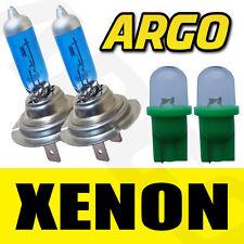 501 LED GREEN T10 W5W SIDELIGHT BULBS H7 XENON WHITE 499 HEADLIGHT HEADLAMP 55W