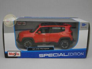 Jeep Renegade - Maisto 1:24 - MA31282RE