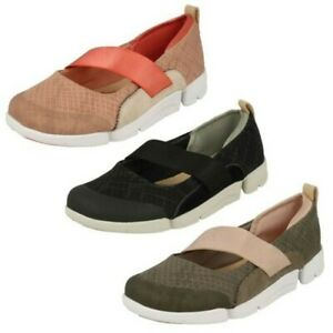 Ladies Clarks Casual Fashion Sports Shoes 'Tri Allie'