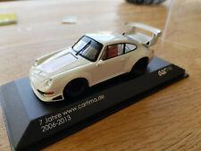 Spark Porsche 911 (993 ) GT2 1995 White Lim.Edition Cartima no. 25 / 100