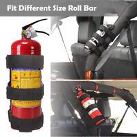 Jeep Fire Extinguisher Holder Adjustable Roll Bar Fire Extinguisher Mount Strap