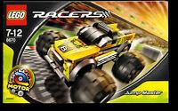 Lego--8670 - Bauanleitung -- Jump Master --  RACERS - Nur Bauanleitung --