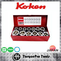 KOKEN 4252M 1/2'' Metric Socket Set
