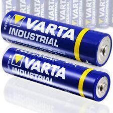 Varta Batterie Set 40 Stk AA Mignon + 60x AAA Micro Alkaline Industrial Quality
