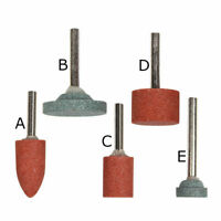 5 Stück Schleifsteine Schleifer Schleifspitze nach Wahl für Dremel, Proxxon etc.