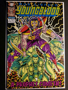 YOUNGBLOOD #2 (1992) 1ST APPEARANCE PROPHET & SHADOWHAWK! ROB LIEFELD! GREEN!