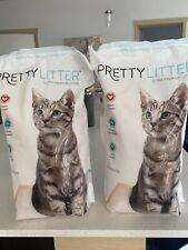 Two (2)- Biggest Bag 6 lb Pound Lbs Pretty Cat Litter Ultra Premium