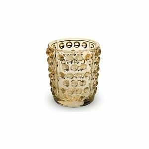 GENUINE LALIQUE Mossi Votive Gold Luster (10370000)