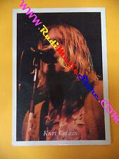 CARTOLINA PROMOZIONALE POSTCARD KURT COBAIN Nirvana 10x15 cm*no cd dvd lp mc vhs