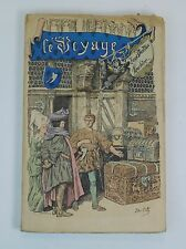 Le Voyage History of Louis Vuitton French Vintage 1901 Paris Antique Luggage VY7