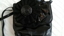 Nine West Black patent Shoulder Cross Body Bag. Brand New