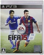 Used PS3 FIFA 15 SONY PLAYSTATION 3 JAPAN JAPANESE IMPORT