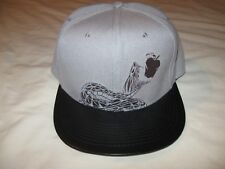 Serpents Bite Apple Cider Whisky Hat Cap Men's One Size Snapback Faux Leather
