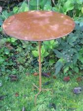 Edelrost Bistrotisch 100 cm Stecktisch Metalltisch Gartenmöbel Beistelltisch