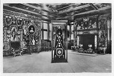 OLD POSTCARD  - DENMARK - Rosenborg Slot - King Christian V Crown and regalia