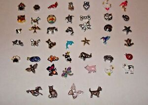 Origami Owl Animal Charms FREE SHIPPING BUY 4 Get Free Charm