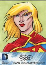 DC Comics The New 52 Sketch Card by Travis Walton - Supergirl