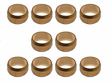 10mm Copper Olives (10 Pack) For Compression Plumbing Fittings