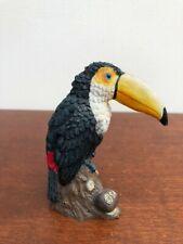 Tropical Toco Toucan Hard Resin Mini Sculpture Statue Figurine