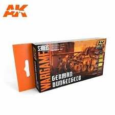 AK Interactive German Dunkelgelb Colors Set Paint Set New