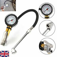 Professional Tyre Inflator With Gauge Air Line Tyre Pump Tester High Pressure UK