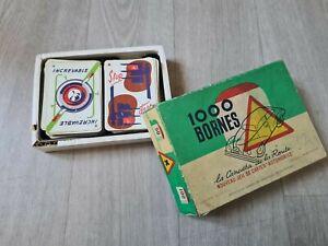 jeu MILLE BORNES la Canasta de la Route / 1956 🍒
