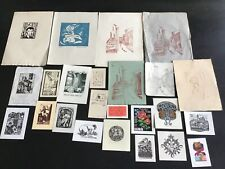 Ex-libris différents artistes