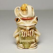 Vtg Harmony Kingdom Pendant Charm Treasure Jest - Garden Prince - Frog 1995 Mib