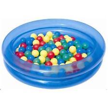 Jeux et activités de plein air bleu avec jeux gonflables